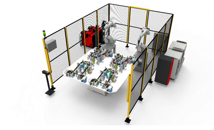 Doubling the productivity using Robotic Welding Solution